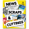 OLYMPIC NEWS SCRAPS AND CUTTINGS SCRAP BOOK 72Pg 400x325mm