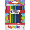 TEXTA NYLORITE MARKERS 12 Assorted WLT12