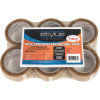 VIBAC PP30R PACKAGING TAPE Clear 48mmx75m PK6