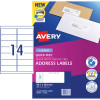 AVERY L7163-20 MAILING LABELS 14 LABELS PER SHEET PK280