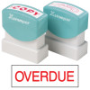 XSTAMPER - 1 COLOUR - TITLES G-O 1171 Overdue Red