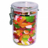 COMPASS STORAGE CANISTER Round Acrylic 1.75L D12.5x19cm