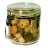 COMPASS STORAGE CANISTER Round Acrylic 4.5L w/hdle D20x21cm