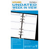 DAYPLANNER PERSONAL EDITION REFILLS - 6 RING Weekly Non-Dated