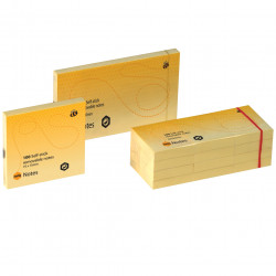 PAPER NOTE MARBIG YELLOW 40 * 50MM PK12 PK12